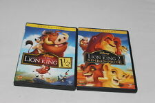 Disney's The Lion King 2 and 1 1/2 on DVD. Out of production #2317
