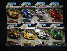 Hot Wheels 2016 FORD PERFORMANCE Series Set of 8 Exclusive FORD Mustang HW cars