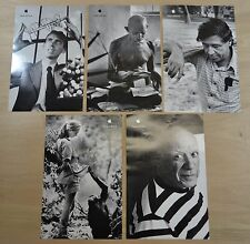 "Lot of 5 APPLE ""Think different"" Posters Educators Set 17"" x 11""  Black & White"