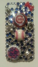 Chicago Cubs MLB bling case iPhone 4s,5,5s,5c,6,Samsung Galaxy S3,S4&S5