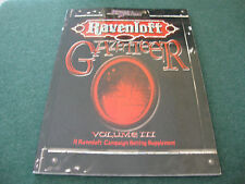RAVENLOFT GAZETTEER VOLUME III 3 D20 RPG
