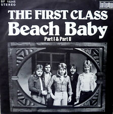 "7"" 1974 IN RARE SLEEVE VG+ ! THE FIRST CLASS Beach Baby"