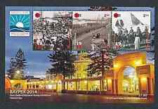 NEW ZEALAND  2014  BAYPEX   WWI  KING & EMPIRE  MS  MNH