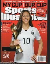 Sports Illustrated 2015 USA Womens World Cup Champions Carli Lloyd Newsstand NRM