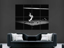 ALEX HIGGINS POSTER HURRICANE SNOOKER LEGEND SPORT  ART IMAGE PICTURE PRINT