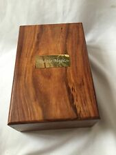 Lovely Wooden Box Find The Magic Excellent Condition