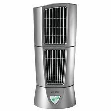 "Lasko Platinum Slim Compact 6"" x 14"" Office Desk Desktop Wind Tower Fan 