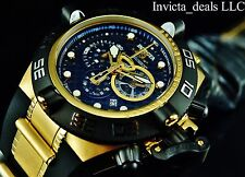 Invicta Men's Subaqua Noma IV Swiss Made Chrono 18K Gold Plated Poly Strap Watch