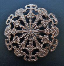 Cowgirl Western Flower Eternity Knot Belt Buckle Fleur Boucle de Ceinture