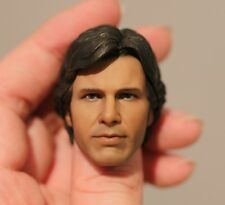 Custom Han Solo Harrison Ford Episode IV A New Hope Star Wars 1/6 head