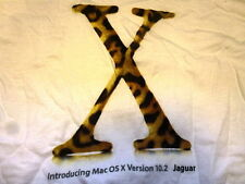 APPLE Intro Jaguar T-SHIRT Extra Large XL iMac White Macintosh OSX tee iPod Jobs