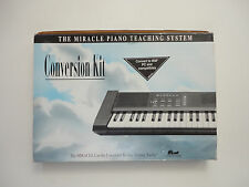 Nintendo NES Miracle Piano Teaching System Conversion Kit w/ Game