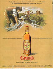 PUBLICITE ADVERTISING 015  1996  GRANT'S     whisky