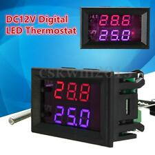 DC 12V Digital LED Thermostat Controller Switch Temperature Sensor Controller