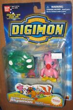 Digimon Action Feature Biyomon Figure with Arm Flapping MOC Bandai 2000 Fox Kids