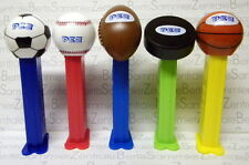 PEZ ►► SPORTS set of 5 and full football candy box  - Europe ◄◄  -  TOP