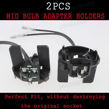 HID Conversion Xenon Bulb Holder Adapter Adaptor 2PCS For VW Jetta Golf 7 Touran