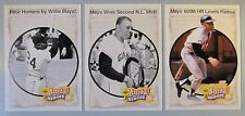 LOT OF (3) 1993 Upper Deck Mays Heroes #49 #50 #51 1961 1965 1969 Game