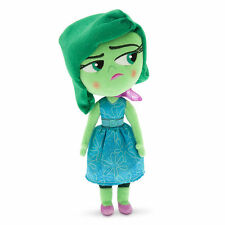 Disney Store Inside Out Disgust Plush 11''
