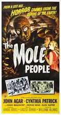 Mole People Poster 04 Metal Sign A4 12x8 Aluminium