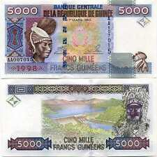 Guinée - Guinea billet neuf de 5000 francs pick 38 UNC