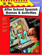 After School Spanish Games & Activities, Primary (The 100+ SeriesTM)