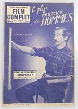 FILM COMPLET N° 358 LE PLUS HEUREUX DES HOMMES PIERRE MONDY FERNANDEL GRAVEY