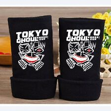 2016 New Anime Tokyo Ghoul Half Finger Gloves Cotton Mitten Lovers Cosplay Gift