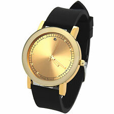 Mens Gold/Gold Franco Bernard Fashion Casual Silicone Quartz watches Fr10