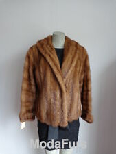 Women's Sz 6/8 Mink Fur Jacket Bolero Coat  MINT+   SALE
