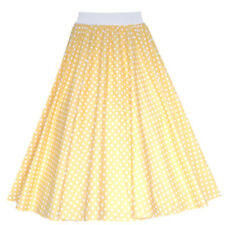 "Ladies 1950's 50's GREASE Style Polka Dot 24""Length Skirts VINTAGE Fancy Dress"