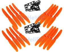 GemFan 5030 5x3 ORANGE MultiRotor propeller CW CCW Mini 250mm Quadcopter (16pcs)