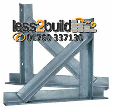 Gallows Brackets Chimney Support Galv 50x375x375mm Price Per Pair