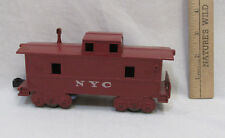 Marx CabooseTrain Car New York NYC Plastic O Gauge Railroad Vintage Red