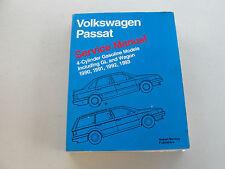 VOLKSWAGEN PASSAT 1990-1993 SERVICE MANUAL 4-CYLINDER GASOLINE MODELS LPV800205