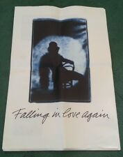 1988 AUDI 100 FALLING IN LOVE AGAIN NEVER WANTED TO etc UK GIANT SIZED BROCHURE