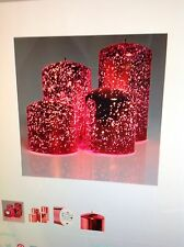 Elambia Flammloses Kerzen Spiegeleffekt