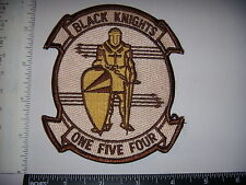 Military Patch USN  RARE VF-154 Black Knights is Desert Camo