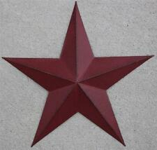 "Barn Star New Americana Metal Star 12"" Country Wall Star Rustic Red Christmas"
