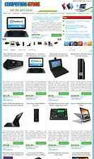 Computer and Laptop Store - eBay, Amazon, Commission Junction Affiliate Website