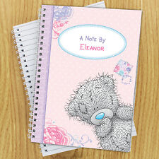 PERSONALISED Paper Notebook ME TO YOU Notepad A5 - Girls TATTY TEDDY Bear