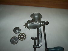 Antique Wizard Nut Chopper Cutter Grinder Or Hand Crank & Clamp Meat Grinder