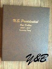2007 - 2011 P D S proof 60 Coins Presidential Dollar Set in Dansco Album