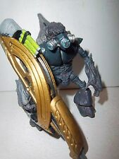 """Halo 3 Collection **BLACK GRUNT** 4"""" Action Figure Complete w/ Fuel Rod Cannon"""