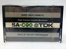 TDK SA-C 90 BLANK AUDIO CASSETTE TAPE NEW RARE 1975 YEAR JAPAN MADE KIND #2
