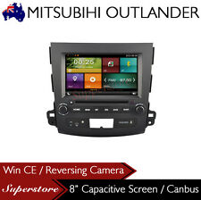 "8.0"" Car DVD GPS Head Unit Navigation For MITSUBISHI OUTLANDER 2007-2012 BT"