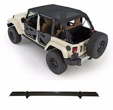Smittybilt Extended Mesh Top & Header Channel Set 2010-2016 4dr Jeep Wrangler JK