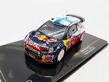 New IXO Model 1:43 Citroen DS3 WRC #2 Rally Monte Carlo 2012 RAM483