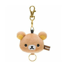 San-X Rilakkuma stuffed reel key chain (FR69101) 7C110