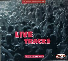 Live Tracks Various Artist  24 Carat Zounds Gold CD NEW Sealed Audio's Audiophil